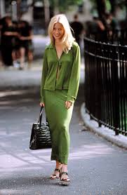 Gwyneth Paltrow Gwyneth Paltrow In Green Great Expectations Look Vogue