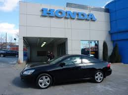 2006 black honda accord coupe used 2006 honda accord ex l v6 coupe for sale stock h110246a