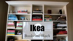 ikea billy bookcase hack how to make a billy bookcase look expensive ikea hackers
