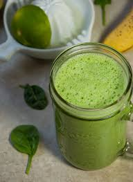 lime green smoothie with lime and cucumber feasting not fasting