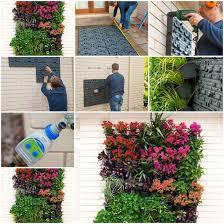 How To Build A Vertical Garden - vertical garden on the wall