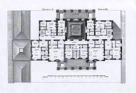 chateau floor plans attic floor plan of the château de benouville by ledoux castles
