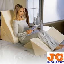reading sleeping bed wedge foam pillow buy bed wedge foam pillow