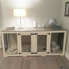 How To Make End Table Dog Crate by Friday Favorites Wood Block Floor And A Beautiful Dog Kennel Yes
