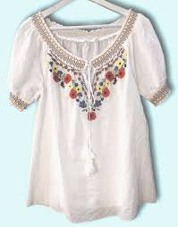 embroidered blouses floral embroidered shirts white embroidered blouses