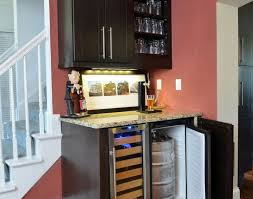 Cute Cabinet Bar Home Wine Bar Awesome Bar Cabinet With Mini Fridge Dh Custom