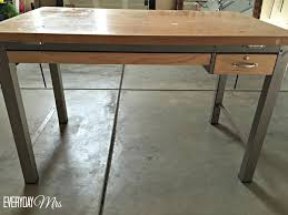 Wood Drafting Table Diy Bar From Drafting Table Everyday Mrs
