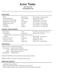 Teen Resume Examples by Teenage Resume Template Billybullock Us