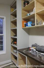 how to apply beadboard to cabinets sawdust