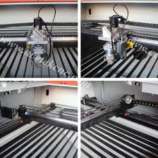 Laser Cutting Table Stainless Steel Co2 Laser Cutting Machine 150w Co2 Metal Laser