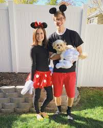 Halloween Costumes Mickey Minnie Mouse Halloween Disney Halloween Costumes Couple Halloween
