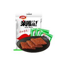 element de cuisine s駱ar馥 卫龙分享装麦辣鸡汁味亲嘴烧辣条300克 袋中国 价格 评价 网易考拉海购