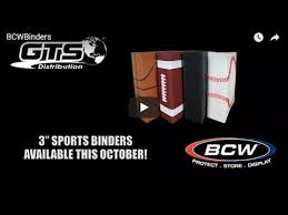 sports photo albums bcw premium 3 inch multi sport binder albums