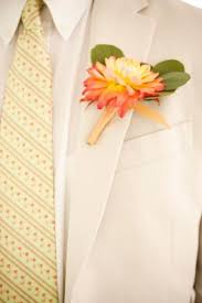 Coral Boutonniere Your Wedding In Colors Mustard Yellow And Coral Arabia Weddings