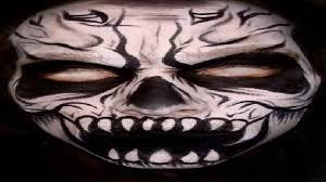 making masks for halloween youtube