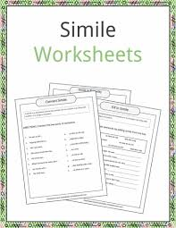 simile examples definition and worksheets kidskonnect