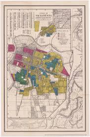 Sacramento Ca Map Redlining Sacramento 1936 1939