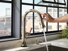 Touch Kitchen Faucet Boharers Touchless Kitchen Sink Faucet With React Touch Free