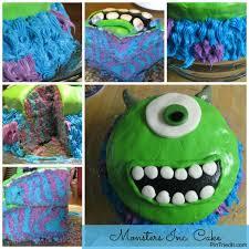 monsters inc cake pintriedit
