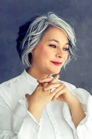 grey hairstyles for young women amazing gray hairstyles we love southern living