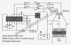 500w power inverter circuit diagram based tip35c circuit diagram world