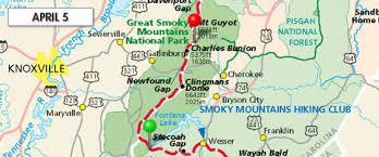 joe liles appalachian trail hike archive trail report