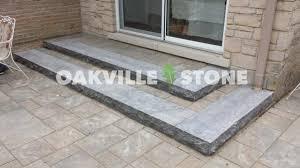 hampton limestone steps oakville stone rock hard landscape supply