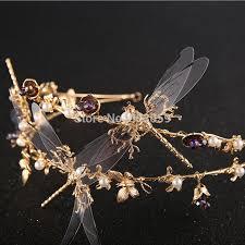 designer hair accessories new designer dragonfly crown tiara headband bridal hair