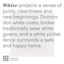 meaning of the color white sensational color
