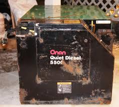 cummins onan 5500 quiet diesel rv generator ebay