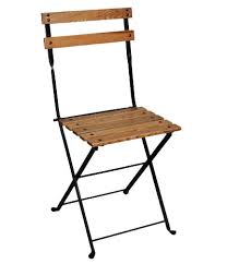Folding Bistro Chairs Economy 19th Century Reproduction Garden Cafe Folding Chair