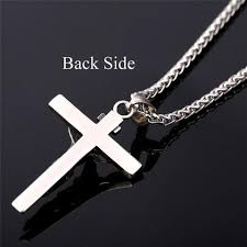mens cross crucifix necklace images Buy cross inri crucifix jesus necklace men chains men 39 s jewelry jpg