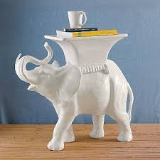 Elephant Side Table Gumps Elephant Side Table Copycatchic