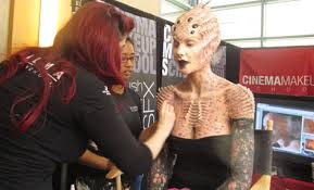 makeup special effects school monsterpalooza the of monsters 2013 my