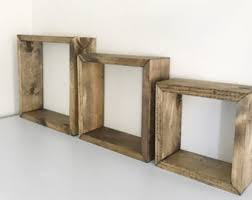 Square Floating Shelves by Square Shelf Etsy