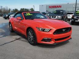orange mustang convertible orange ford mustang convertible for sale in