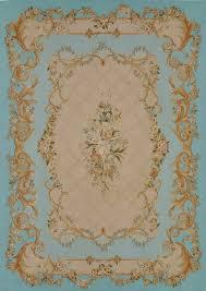 tappeto aubusson tappeto in stile a motivi in rettangolare etoile 4423