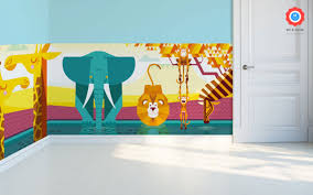 savanna jungle kids wall murals kids room wallpaper baby kids panoramic wallpaper african plain