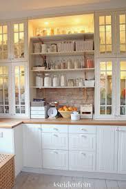 Glass Shelves For Kitchen Cabinets 25 Best Glass Shelves Ikea Ideas On Pinterest Custom Shelving