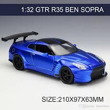 collectible model cars 1 24 model car brian s gtr r35 ben sopra metal vehicle play