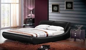 Black Leather Platform Bed Truly Amazing And Awesome Modern Platform Bed Designs Designoursign