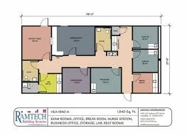 Construction Floor Plans Medical Floorplans Ramtech Modular