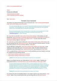Termination Letter Without Notice by 9 Company Termination Letters Free Samples Examples Formats