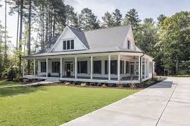 Barn Style House Plans With Wrap Around Porch by Dream Home White Farmhouse Southern Living And Southern