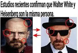 Heisenberg Meme - dopl3r com memes estudios recientes confman que waiter whitey