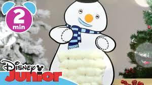 christmas craft tutorials chilly the snowman advent calendar