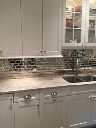 Mirror Bevel Brick Tiles Will Give Any Environment A Glamorous - Mirrored backsplash