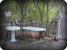 outdoor bathtub outdoor bathrooms and indoor gardens