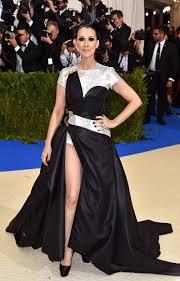 met gala 2017 celine dion wears custome versace