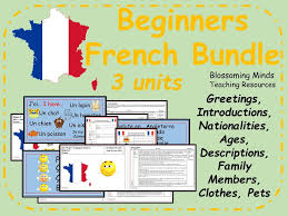 elementary french resources family
